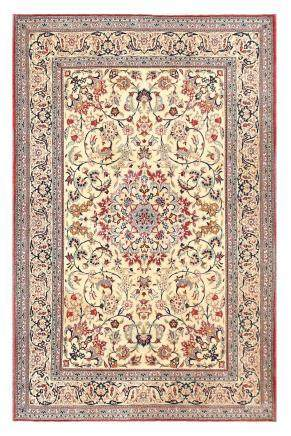 EXTREMELY FINE NAIN TUDESHK RUG, CENTRAL PERSIA approx: 5ft.