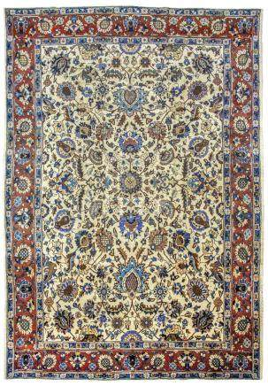 A TABRIZ CARPET, NORTH-WEST PERSIA approx: 12ft.11in. x 9ft.