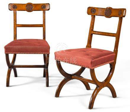 ATTRIBUTED TO A. W. N. PUGIN | Pair of Chairs