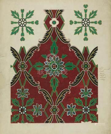OWEN JONES   'Maharanee' fabric design