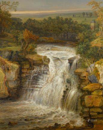JAMES WARD, R.A. | The Falls of the Clyde After a Flood