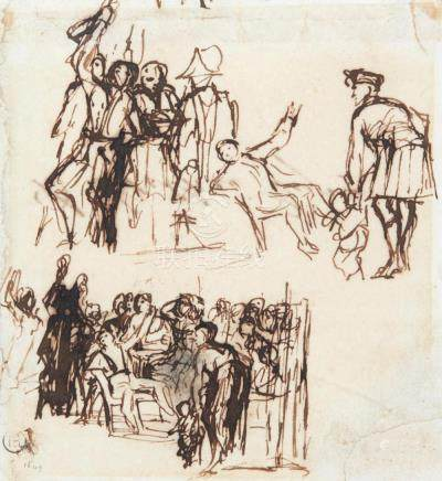 SIR DAVID WILKIE, R.A. | A Collection of Studies