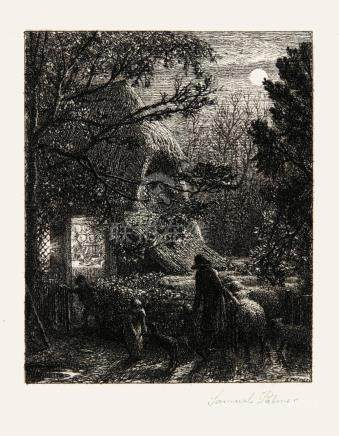 SAMUEL PALMER   Christmas (A. 4)