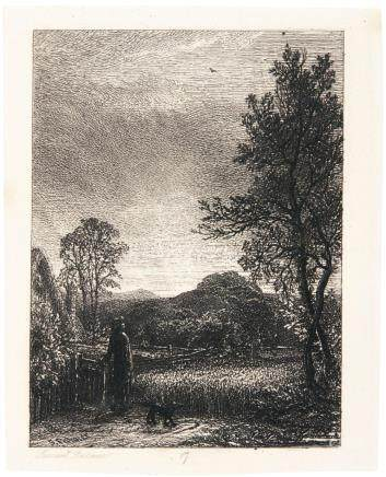 SAMUEL PALMER | The Skylark (A. 2)