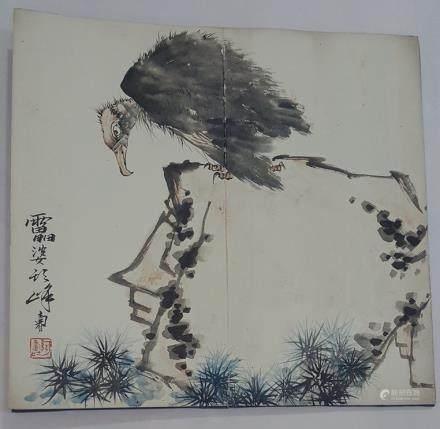 Chinese Albam Painting,Pan Tianshou(1897-1971)