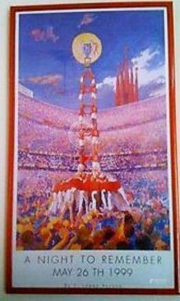 Lot 14 - Copy of 1999 Treble Celebration Print by Spanish Ar