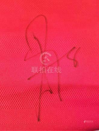 Lot 18: Signed Manchester United Football shirt by Juan Mata