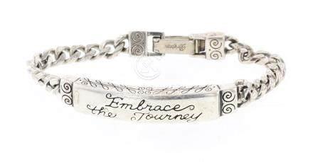 Brighton Vintage Inspirational Link Bracelet