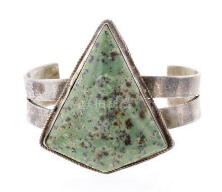 Pesh Vintage Triangle Cuff Bracelet