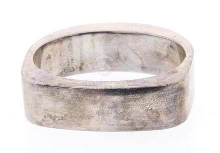 Jondell Antique Silver Bangle Bracelet