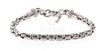 Vintage Sterling Silver Chain Link Bracelet