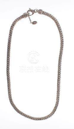 Milo Design Vintage Silver Chain Necklace