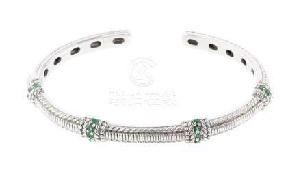 Vintage Judith Ripka Peridot Bracelet