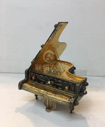 Piano Shaped Music Box