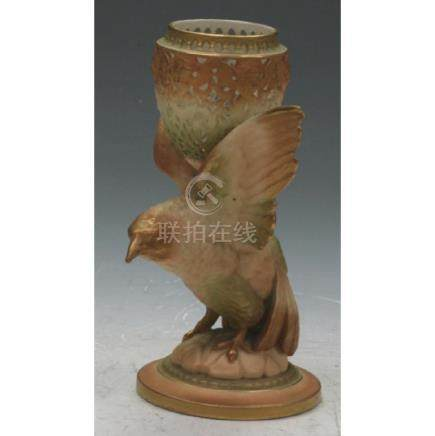 Royal Worcester Bird Figurine & Bowl