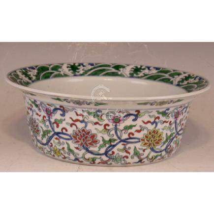 Important Dou Cai Large Bowl