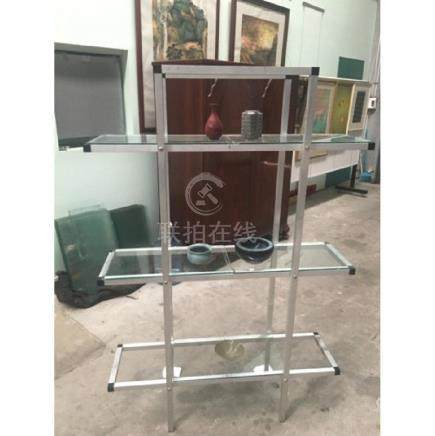 Six Exhibition portable glass cabinet