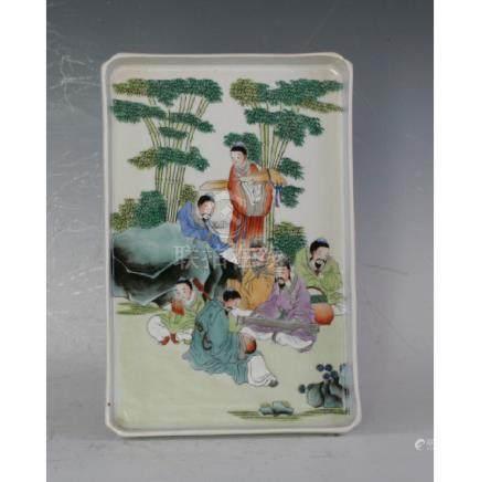 Colourful Tea Tray