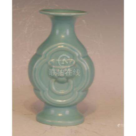 Lu Ware Flask Vase