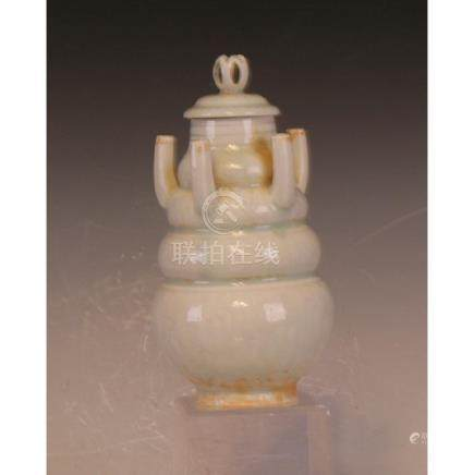 Qingbai Covered Jar