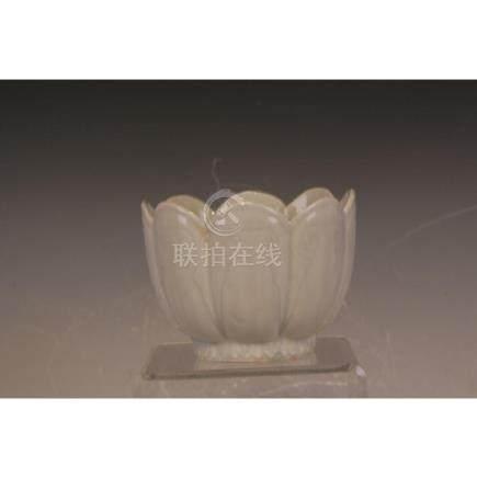 Ding Ware Lotus Shape Vase