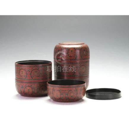 Pair Of Lacquer Boxes