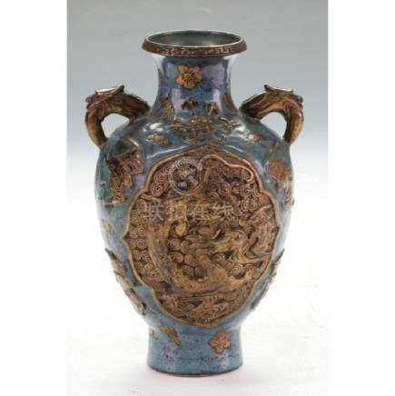 Very Good Jun Ware Glazing Vase