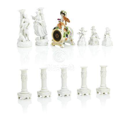 A group of continental porcelain 20th Century