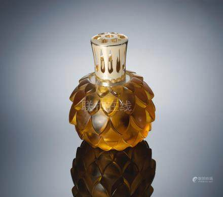 René Lalique (French, 1860-1945) A 'Artichaut' Perfume-Burner, designed in 1927