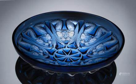 René Lalique (French, 1860-1945) A 'Agnes' Bowl, designed in 1930