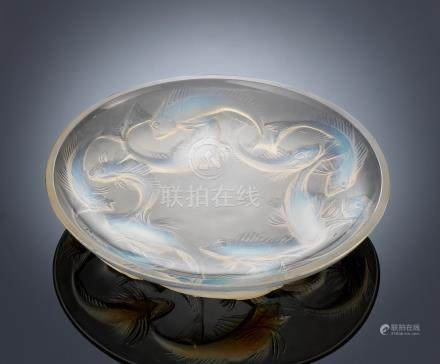 René Lalique (French, 1860-1945) A 'Martigues' Bowl, designed in 1920