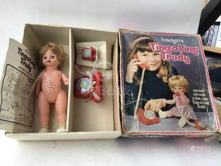 A boxed Bradgate Ting a ling Trudy doll - NO RESERVE