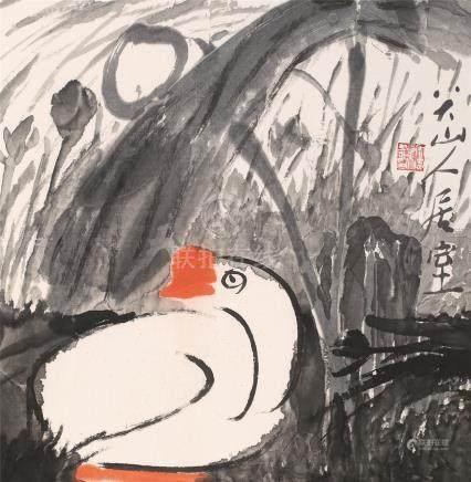 李大震 鹅 LI DA ZHENG BIRD