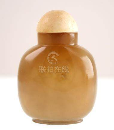 Antique Chinese Snuff Bottle Jade or Agate