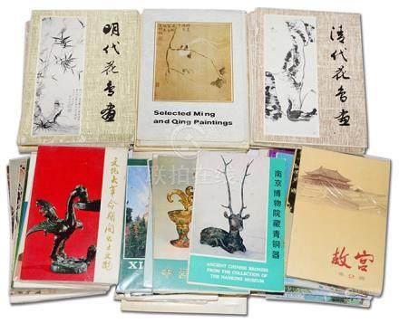 中國風景、藝術品等 明信片一組