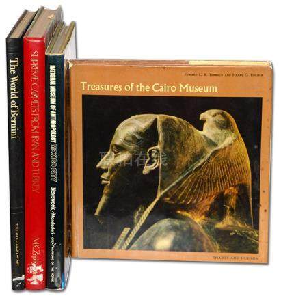 《Treasures Of The Cairo Museum》1970、《National Museum Of Anthropology Mexico City》1970、《The World Of Bernini》1978 等(共4本)