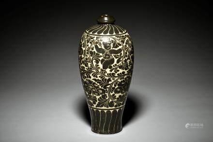 CIZHOU WARE 'CHILDREN' VASE