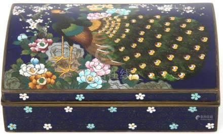 Kyoto Japanese Cloisonne Box