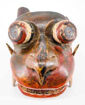 Old Barong Lion Mask From Bali