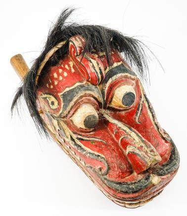 Old Barong Dragon Mask
