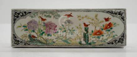 Chinese Porcelain Scroll Weight