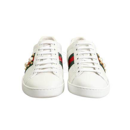 """GUCCI Sneakers """"ACE"""", Gr. 37,5."""