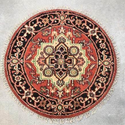 PERSIAN HERIZ ROUND RUG – 3.0 x 3.0
