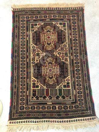 TURKISH EAST ANATOLIAN KURDISH PRAYER RUG – 2.10 x 4.5