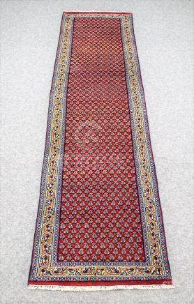 PERSIAN ANTIQUE SARABAND MIR RUNNER – 2.6 x 11.0 - 50+ YRS O