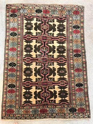 PERSIAN ANTIQUE HERIZ SERAPI RUG – 2.10 x 4.1 - 80+ YRS OLD