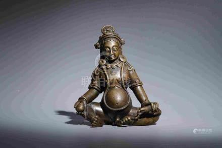 SITTING ESOTERIC JIN-GANG-BUDDHA