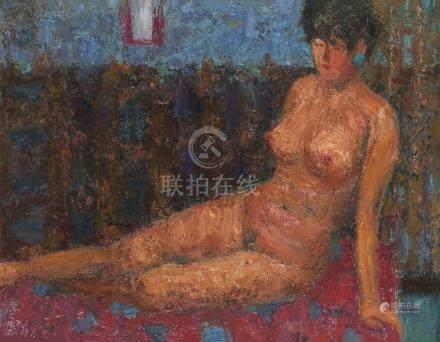 詹浮云-裸女