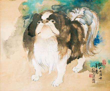 涂璨琳-拟大千泼彩京巴犬