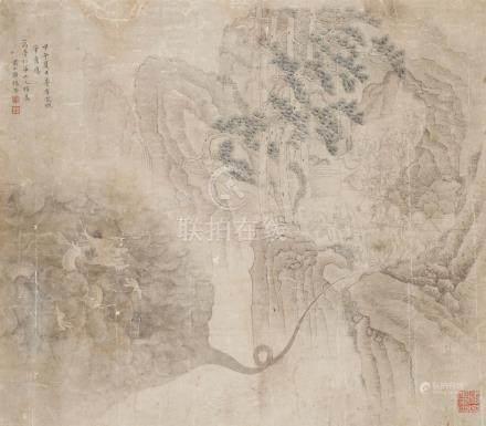 邹锡荣-拟龙眠山水